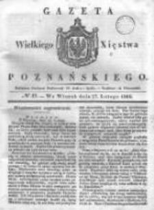 Gazeta Wielkiego Xięstwa Poznańskiego 1838.02.27 Nr49
