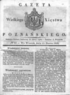 Gazeta Wielkiego Xięstwa Poznańskiego 1838.03.13 Nr61