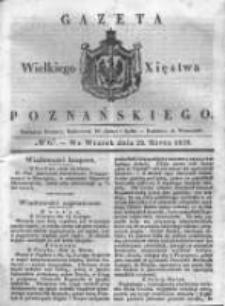 Gazeta Wielkiego Xięstwa Poznańskiego 1838.03.20 Nr67