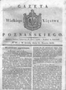 Gazeta Wielkiego Xięstwa Poznańskiego 1838.03.21 Nr68