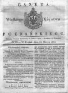 Gazeta Wielkiego Xięstwa Poznańskiego 1838.03.23 Nr70