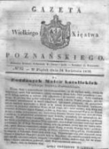 Gazeta Wielkiego Xięstwa Poznańskiego 1838.04.20 Nr92