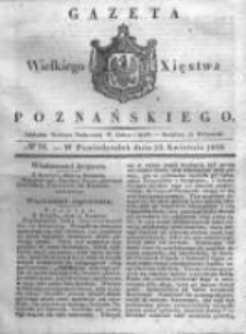 Gazeta Wielkiego Xięstwa Poznańskiego 1838.04.23 Nr94