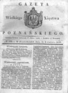 Gazeta Wielkiego Xięstwa Poznańskiego 1838.04.30 Nr100
