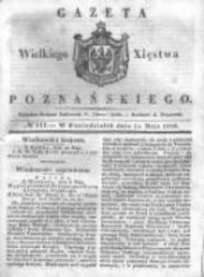 Gazeta Wielkiego Xięstwa Poznańskiego 1838.05.14 Nr111