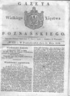 Gazeta Wielkiego Xięstwa Poznańskiego 1838.05.28 Nr122