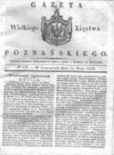 Gazeta Wielkiego Xięstwa Poznańskiego 1838.05.31 Nr125