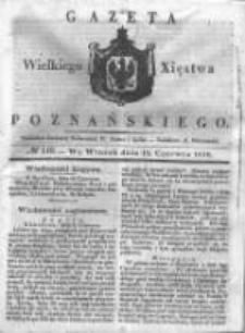 Gazeta Wielkiego Xięstwa Poznańskiego 1838.06.19 Nr140