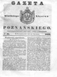Gazeta Wielkiego Xięstwa Poznańskiego 1839.01.14 Nr11