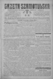 Gazeta Szamotulska: niezależne pismo narodowe, społeczne i polityczne 1926.01.09 R.5 Nr3
