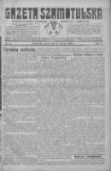 Gazeta Szamotulska: niezależne pismo narodowe, społeczne i polityczne 1926.01.16 R.5 Nr6