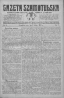 Gazeta Szamotulska: niezależne pismo narodowe, społeczne i polityczne 1926.02.06 R.5 Nr15