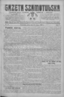 Gazeta Szamotulska: niezależne pismo narodowe, społeczne i polityczne 1926.02.13 R.5 Nr18
