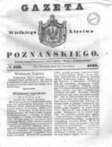 Gazeta Wielkiego Xięstwa Poznańskiego 1839.06.11 Nr133