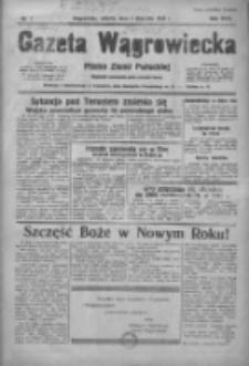 Gazeta Wągrowiecka: pismo ziemi pałuckiej 1938.01.01 R.18 Nr1