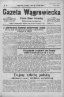 Gazeta Wągrowiecka: pismo ziemi pałuckiej 1938.01.16 R.18 Nr12