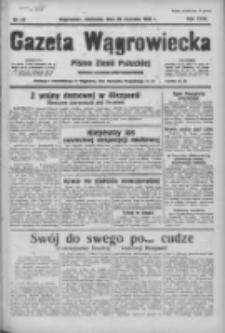 Gazeta Wągrowiecka: pismo ziemi pałuckiej 1938.01.30 R.18 Nr24