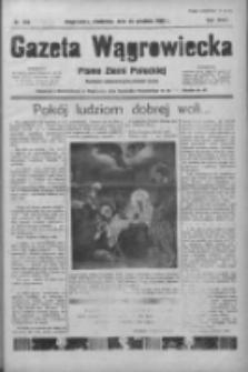Gazeta Wągrowiecka: pismo ziemi pałuckiej 1938.12.25 R.18 Nr295
