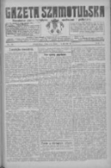 Gazeta Szamotulska: niezależne pismo narodowe, społeczne i polityczne 1926.04.01 R.5 Nr38