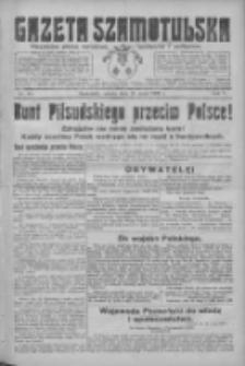 Gazeta Szamotulska: niezależne pismo narodowe, społeczne i polityczne 1926.05.15 R.5 Nr55