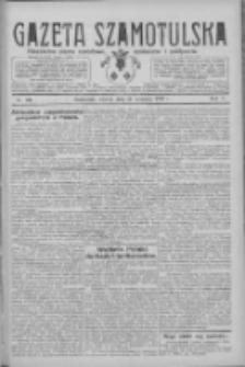Gazeta Szamotulska: niezależne pismo narodowe, społeczne i polityczne 1926.09.14 R.5 Nr106