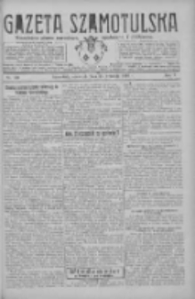 Gazeta Szamotulska: niezależne pismo narodowe, społeczne i polityczne 1926.09.23 R.5 Nr110