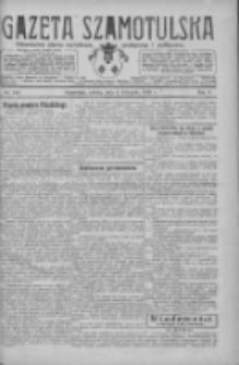 Gazeta Szamotulska: niezależne pismo narodowe, społeczne i polityczne 1926.11.06 R.5 Nr128