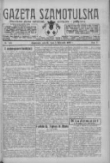 Gazeta Szamotulska: niezależne pismo narodowe, społeczne i polityczne 1926.11.09 R.5 Nr129