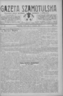 Gazeta Szamotulska: niezależne pismo narodowe, społeczne i polityczne 1926.11.27 R.5 Nr137