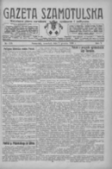 Gazeta Szamotulska: niezależne pismo narodowe, społeczne i polityczne 1926.12.02 R.5 Nr139