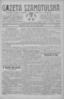 Gazeta Szamotulska: niezależne pismo narodowe, społeczne i polityczne 1926.12.11 R.5 Nr143