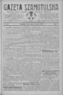 Gazeta Szamotulska: niezależne pismo narodowe, społeczne i polityczne 1926.12.14 R.5 Nr144