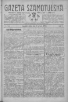 Gazeta Szamotulska: niezależne pismo narodowe, społeczne i polityczne 1926.12.18 R.5 Nr146