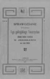 Sprawozdanie Wydziału I-go Galicyjskiego Towarzystwa Chowu Drobiu i Królików w Jarosławiu za rok 1902