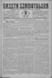 Gazeta Szamotulska: niezależne pismo narodowe, społeczne i polityczne 1925.01.08 R.4 Nr4