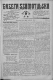 Gazeta Szamotulska: niezależne pismo narodowe, społeczne i polityczne 1925.01.24 R.4 Nr11
