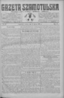 Gazeta Szamotulska: niezależne pismo narodowe, społeczne i polityczne 1925.02.28 R.4 Nr26
