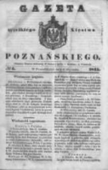 Gazeta Wielkiego Xięstwa Poznańskiego 1845.01.06 Nr4