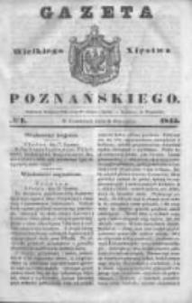Gazeta Wielkiego Xięstwa Poznańskiego 1845.01.09 Nr7