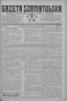 Gazeta Szamotulska: niezależne pismo narodowe, społeczne i polityczne 1925.09.22 R.4 Nr111