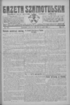 Gazeta Szamotulska: niezależne pismo narodowe, społeczne i polityczne 1925.11.12 R.4 Nr133