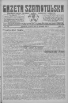 Gazeta Szamotulska: niezależne pismo narodowe, społeczne i polityczne 1925.11.19 R.4 Nr136