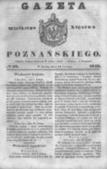Gazeta Wielkiego Xięstwa Poznańskiego 1845.02.19 Nr42