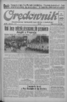 Orędownik: ilustrowany dziennik narodowy i katolicki 1938.07.22 R.68 Nr166