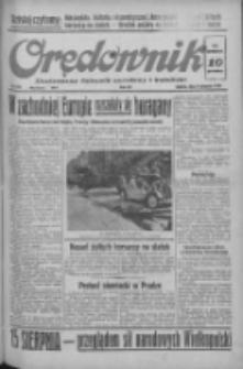 Orędownik: ilustrowany dziennik narodowy i katolicki 1938.08.06 R.68 Nr179