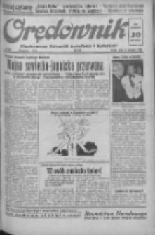 Orędownik: ilustrowany dziennik narodowy i katolicki 1938.08.12 R.68 Nr184