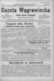 Gazeta Wągrowiecka: pismo ziemi pałuckiej 1938.01.12 R.18 Nr8
