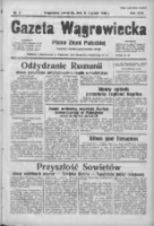 Gazeta Wągrowiecka: pismo ziemi pałuckiej 1938.01.13 R.18 Nr9
