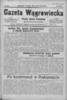 Gazeta Wągrowiecka: pismo ziemi pałuckiej 1938.01.20 R.18 Nr15