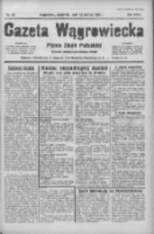 Gazeta Wągrowiecka: pismo ziemi pałuckiej 1938.03.13 R.18 Nr59
